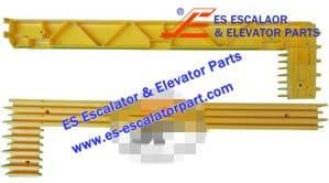 Schindler Refacciones de Escaleras Mecánicas SHDM4003 Demarcación de Peldaño Nuevo MODELO