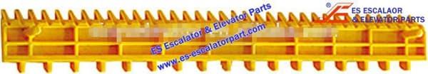 Schindler Refacciones de Escaleras Mecánicas STP002B000-01A Demarcación de Peldaño Nuevo MODELO