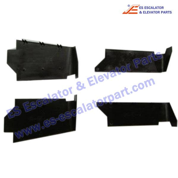 otis escalator GAB384JY16 Deflector Guard outside Left NCE-N