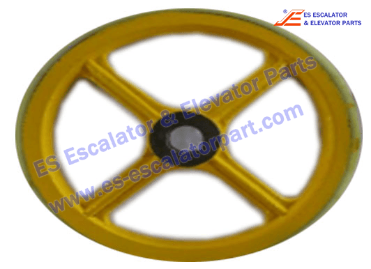 Sigma Escalator Handrail Friction Wheel ASA00B046*C OD458mm*I