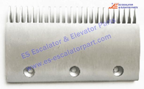 Thyssen Velino Escalator 40901100 Comb Plate (W/O Lip)