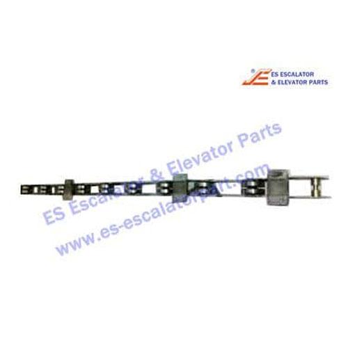 Escalator switching chain