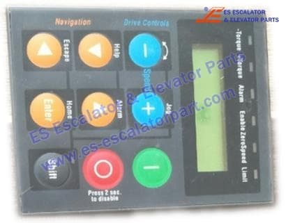 <b>SIEI inverter AVY series AVGL operation panel</b>
