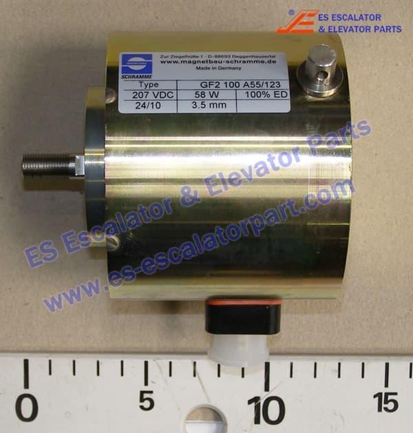 Kone escalator DEE1484923 Elektro Magnet