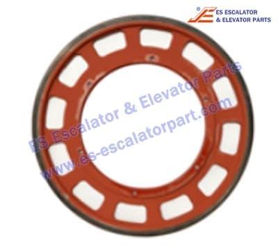 Fujitec escalator Friction Wheel 597*30mm