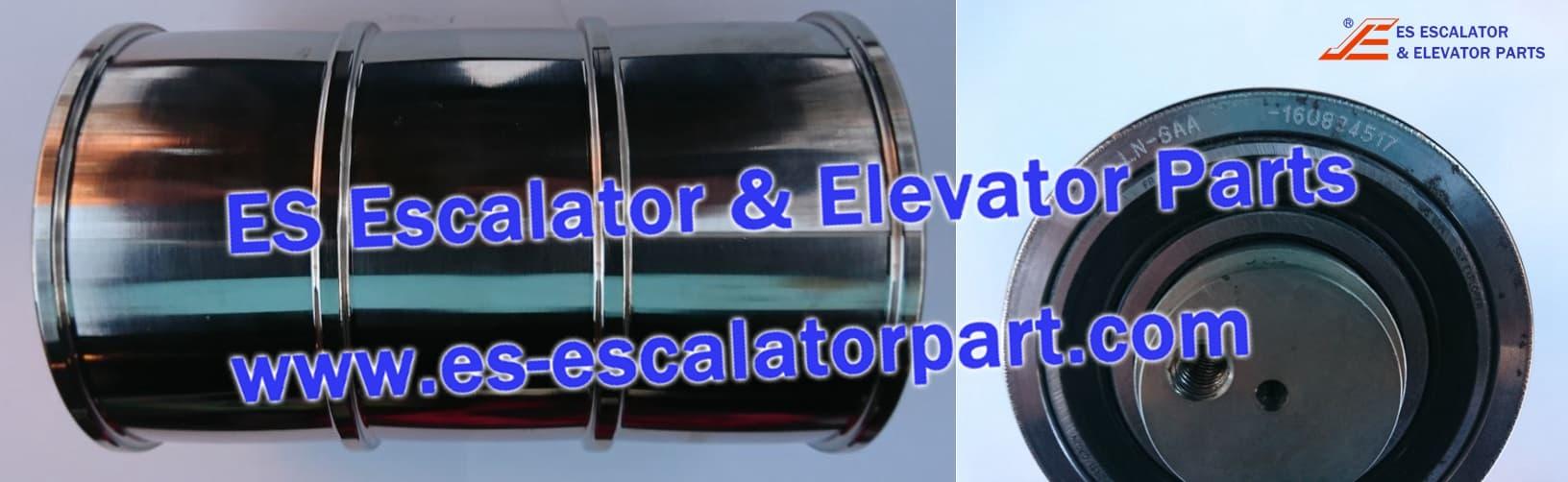 otis elevator DAA266N CAR/CWT suspension pulley Gen2