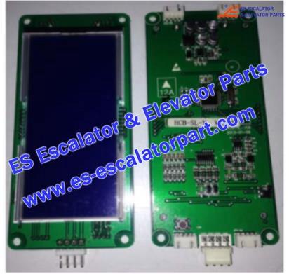 SJEC HCB-SL-V(vertical) Hall Indicator PCB