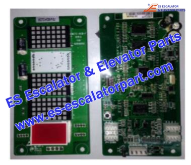 SJEC MCTC-HCB-F Hall Indicator PCB