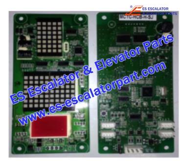 SJEC MCTC-HCB-H Hall Indicator PCB
