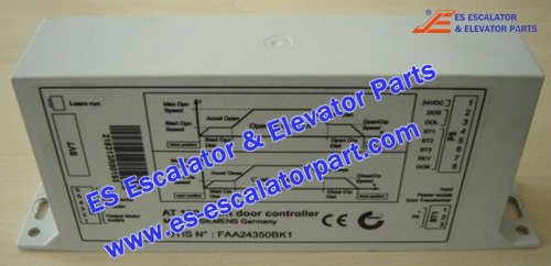 OTIS Elevator FAA24350BK1 AT120 door controller