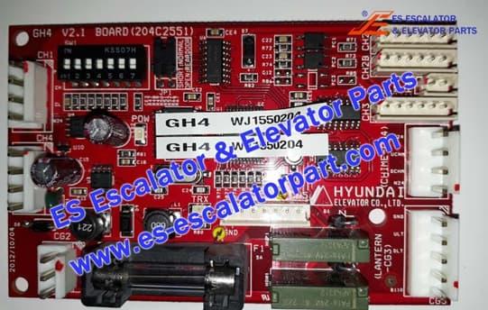 Elevator Board GH4 204C2551