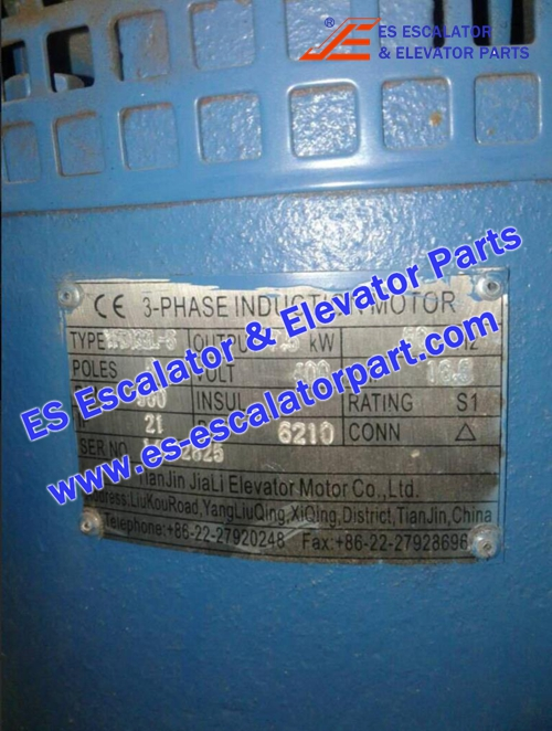 Elevator Parts 14112825 3-Phase induction motor