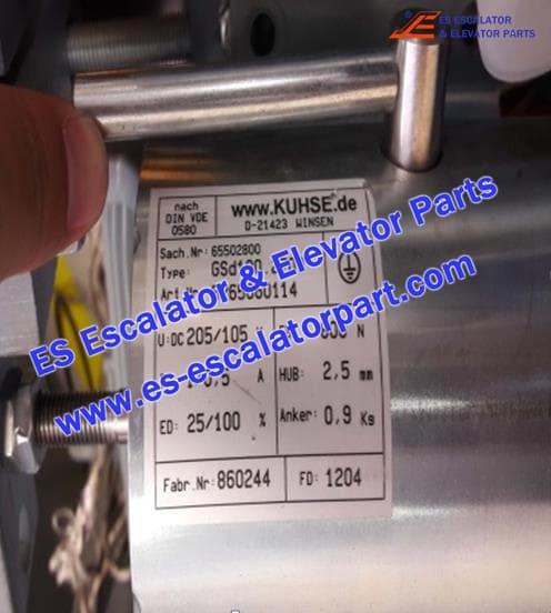 THYSSEN Escalator TUGELA 945 5265060114 GSD100.2703 vbrake coil