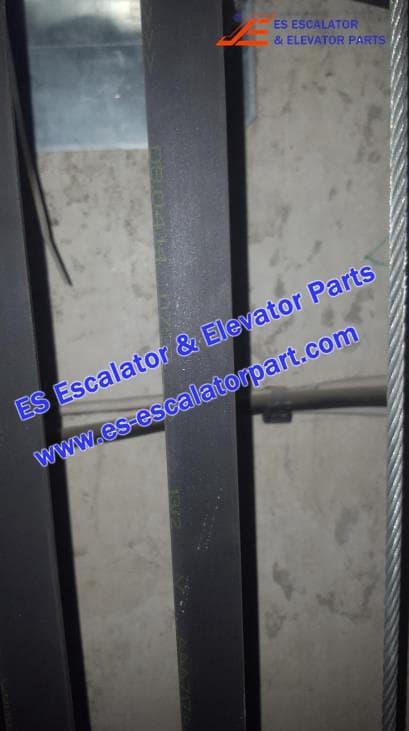 OTIS Escalator AAA717AJ1 GEN2 traction Belt flat