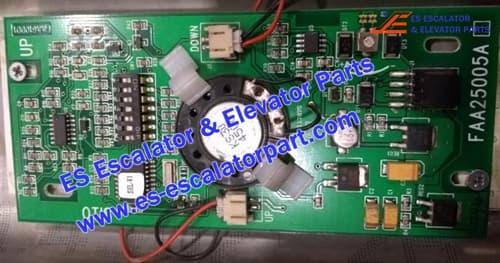 OTIS Elevator FAA25005A1 PCB