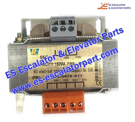 Elevator Parts Transformer capacity 150VA 50-60Hz