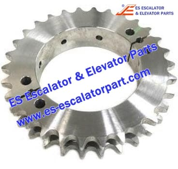Schindler Escalator Parts SR360805 Split Sprocket 30 Teeth