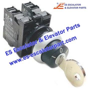 Schindler Escalator Parts CLQ9703 MS1 Keyswitch