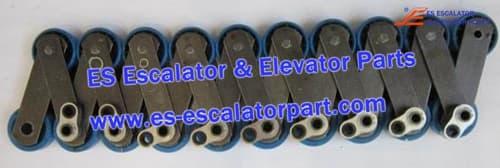OTIS Escalator Parts GAA26350L25 606 NCT Pallet Chain Pin ∅12.7 ∅20m