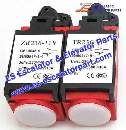Hitachi Elevator Parts ZR236 TR236 Speed limiter tensioner switch