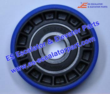 Escalator Parts XAA290CY3 Step wheel