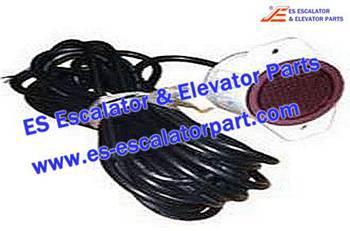Thyssenkrupp Escalator Parts 8801000141 Escalator Traffic Light HY-JTD-2 DC24V