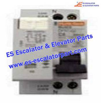 Thyssenkrupp Escalator Parts 8800100038 Protection circuit breaker DPN VIGI 6A-11854