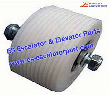 Thyssenkrupp Escalator Parts 1709739600 Roller with Hollow shaft kit
