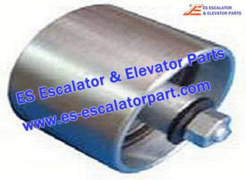 Thyssenkrupp Escalator Parts 1709738400 Metal Roller (Aluminium alloy)