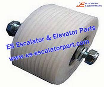 Thyssenkrupp Escalator Parts 1709736900 Roller with Hollow shaft kit (outdoor)