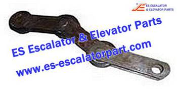 Thyssenkrupp Escalator Parts 1705777700 Singular Step Chain