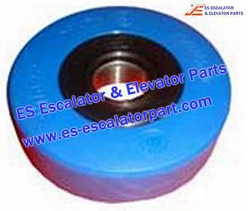Escalator Parts 1705773900 Step wheel