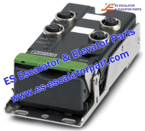 Thyssenkrupp Escalator Parts FLX ASI DI 4 M12 bus modul