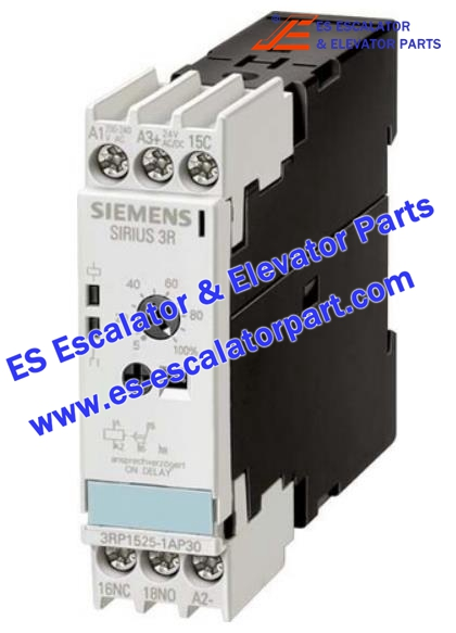 Escalator Parts 3RP-1525-1BP30 Timer relay Screw connection