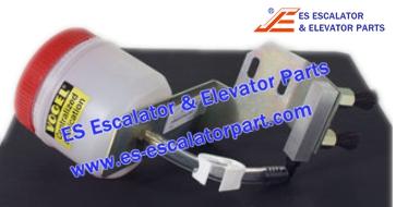 Schindler Escalator Parts Lubricating unit step chain RH