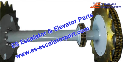 Escalator Parts 1780383300 Main drive Axle