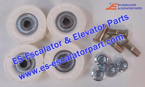 OTIS Elevator Parts FAA5390A14 Floor door roulette PAX