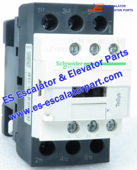 Schneider Escalator Parts LC1D32 Contactor