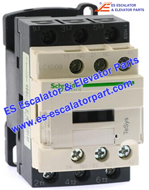 Schneider Escalator Parts LC1D09 Contactor