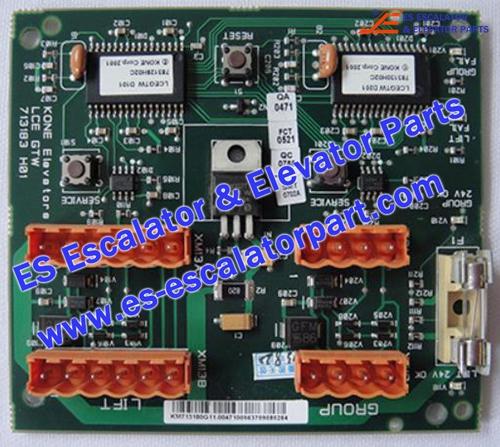 KONE Elevator Parts KM713180G11 PCB