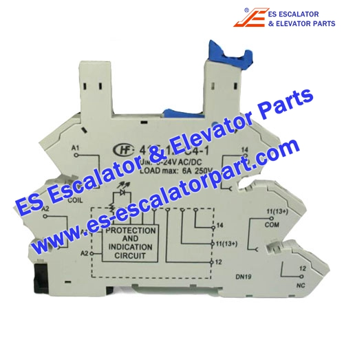 Elevator Parts 41F-1Z-C4-1 Protection and indication circuit