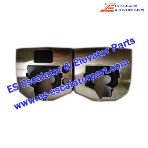 Thyssenkrupp Escalator Parts Stainless steel inlet box