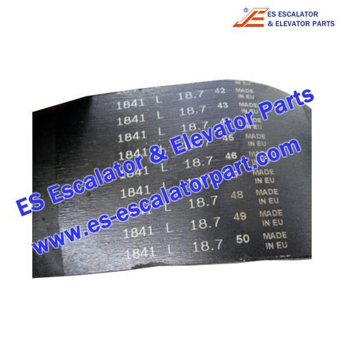 ESThyssenkrupp Escalator Parts 1841 Belt