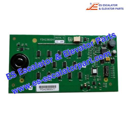 OTIS Elevator Parts FDA23600V1 Display Board