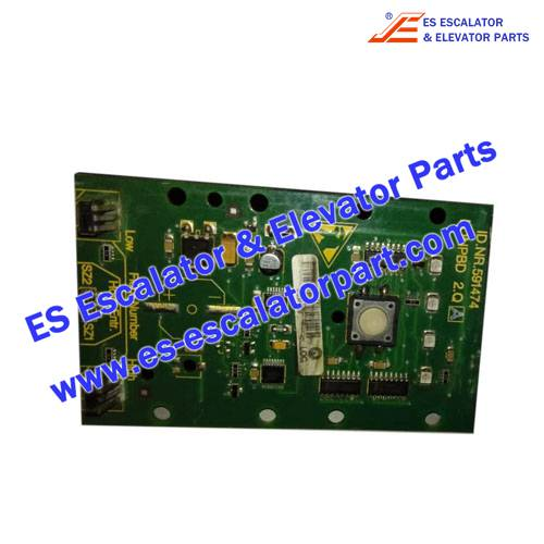 Schindler Elevator Parts ID.NR.591474 PCB