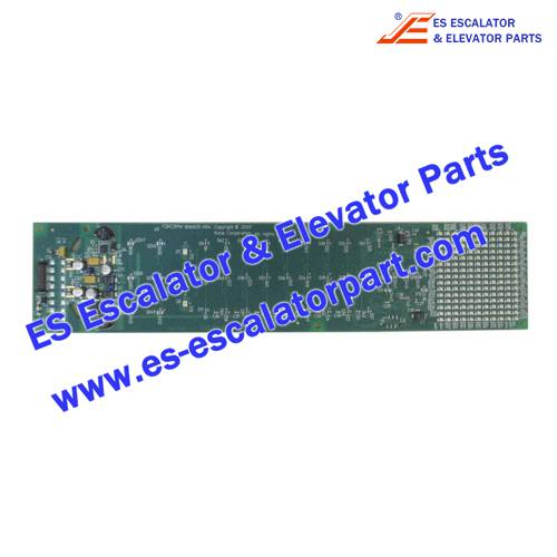 KONE Elevator Parts KM806830G02 PCB F2KCDM DOTMATRIX DISPLAY AMBER COP