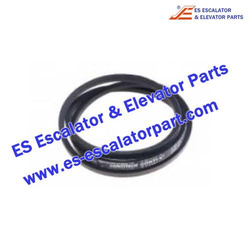 Schindler Elevator 538244 V-belt DIN2215-Z1400 Z55 QKS9