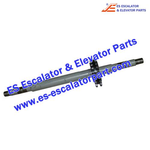 Escalator Parts 405621 Handrail drive shaft