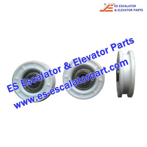 OTIS Elevator FAA456AC1 door hanger roller