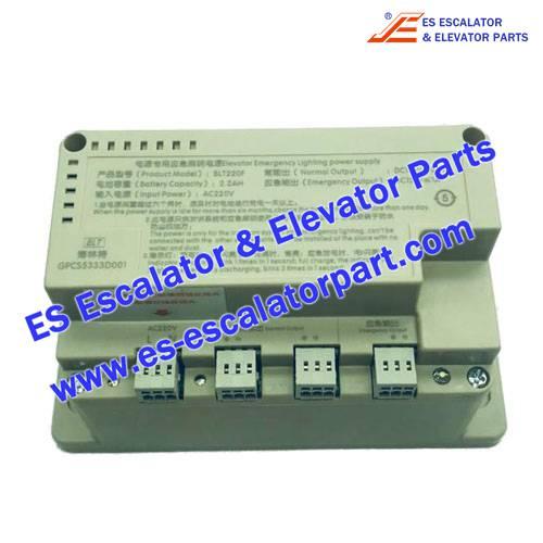 <b>BLT Elevator GPCS5333D001 Power Supply</b>